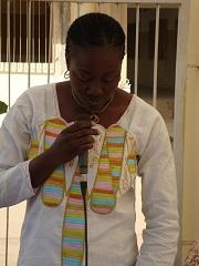 Dr Seynabou NDAO, Médecin Chef du Centre de Santé de Foundiougne