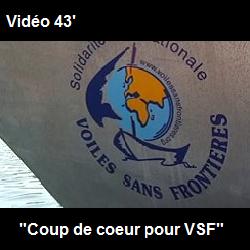 """2002 : """"Coup de cœur pour Voiles Sans Frontières"""""""