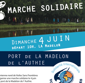 Le 4 juin, l'antenne nord organise sa marche solidaire !