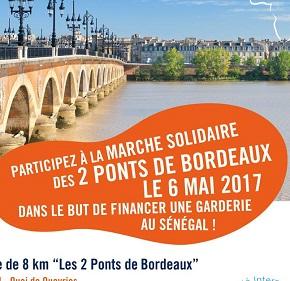 Retrouvons nous le 6 mai pour la marche solidaire de l'antenne Sud Ouest !
