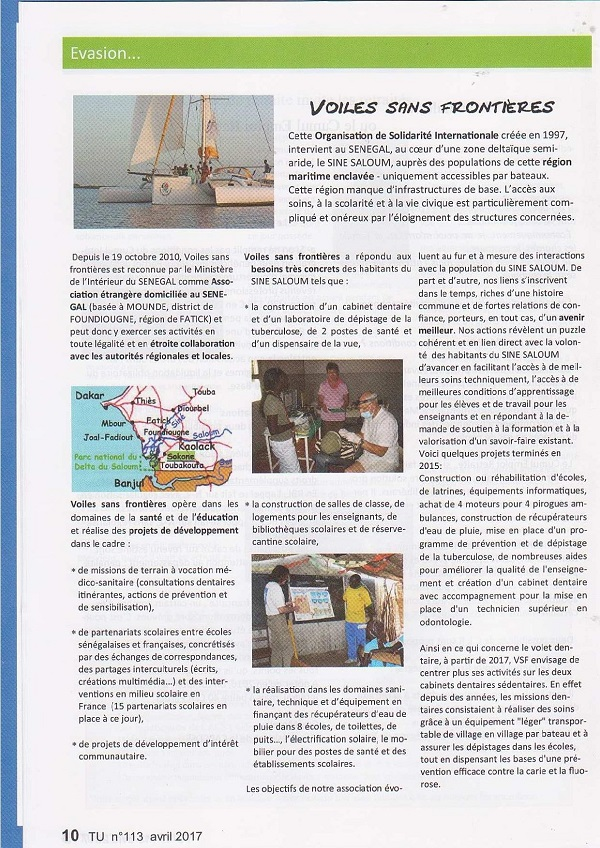 Article UCDR Avril 2017 page 1