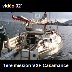 1997 : mission humanitaire en Casamance