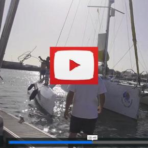 """Vidéo : """"Yobalema"""" accoste à Lanzarote"""