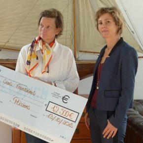 Fondation EDF : remise de la donation à VSF