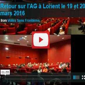 Vidéo : retour sur l'Assemblée Générale 2016 à Lorient