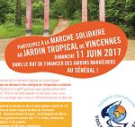 Rdv au jardin tropical de Vincennes pour la marche solidaire de l'antenne IDF le 11 juin.