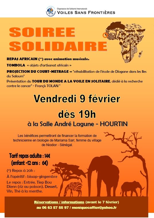 affiche repas hourtin 2018