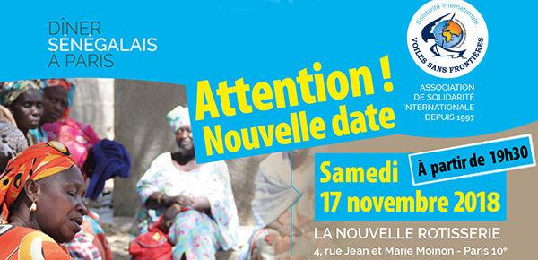 Dîner solidaire à Paris