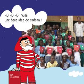 Un cadeau pour l'école de Moundé ?