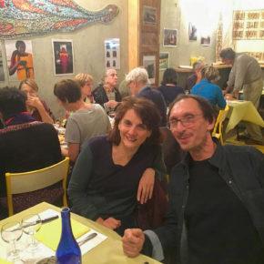 Succès du repas solidaire parisien