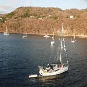 Plusieurs équipages confinés sur leur bateau
